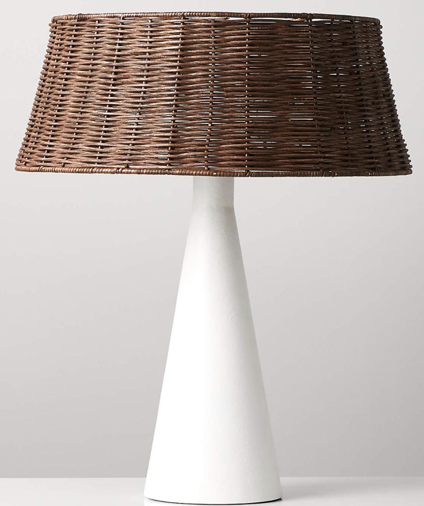 Palomino White Table Lamp