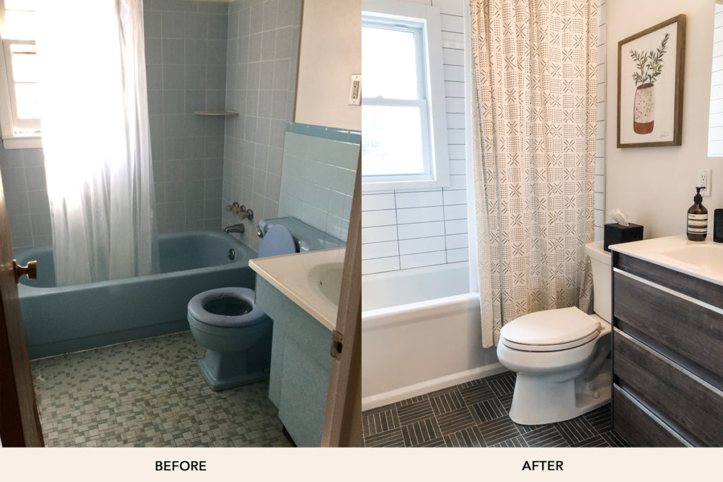 Ashley Libath Bathroom Before And After