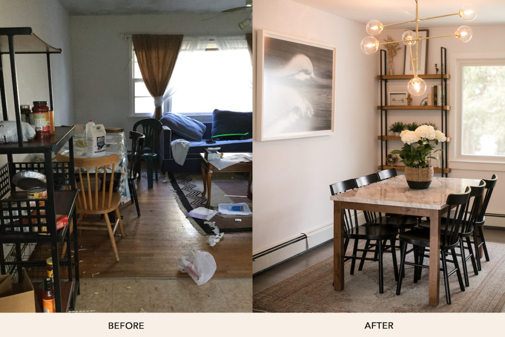 Ashley Libath Dining Room Before And After