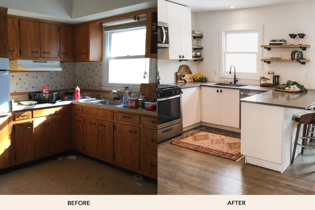 Ashley Libath Kitchen Before And After
